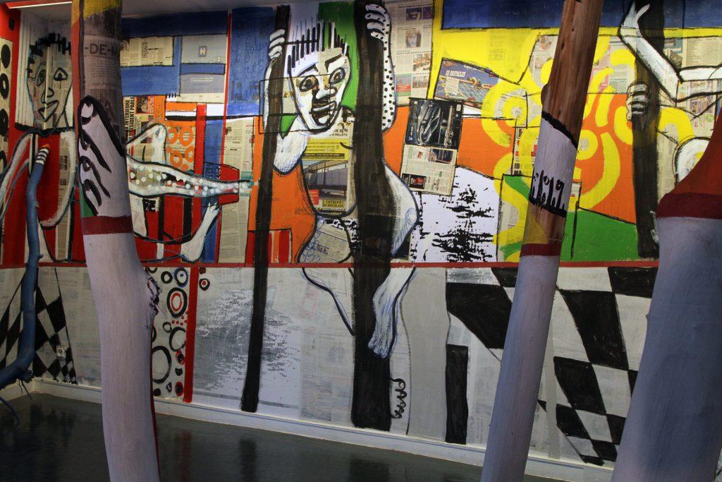 Barkinado Bocoum, vue de l'exposition